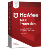 McAfee Total Protection 1 Device (Code in Box)