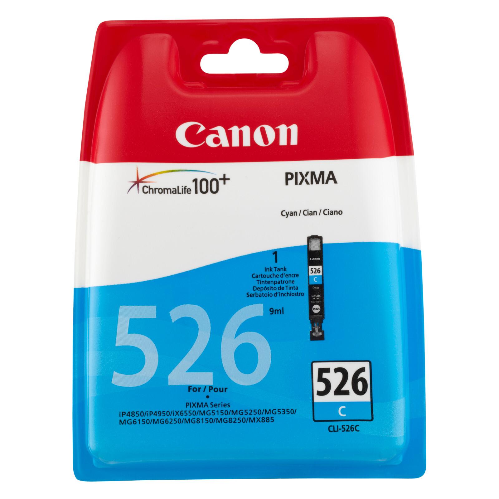 Canon CLI-526C Tinte cyan 9ml