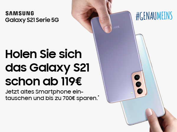 SAMSUNG Galaxy Eintauschaktion