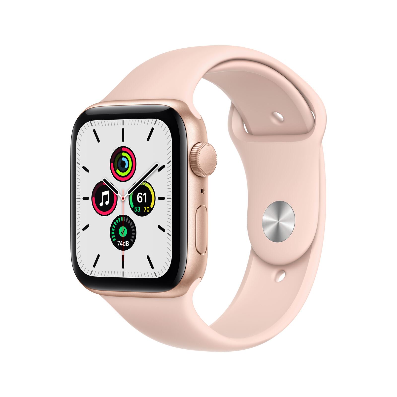 Apple Watch SE GPS Alu gold 44mm sandrosa