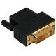 Hama 34035 DVI-HDMI-Adapter, DVI-Stecker - HDMI-Kupplung,