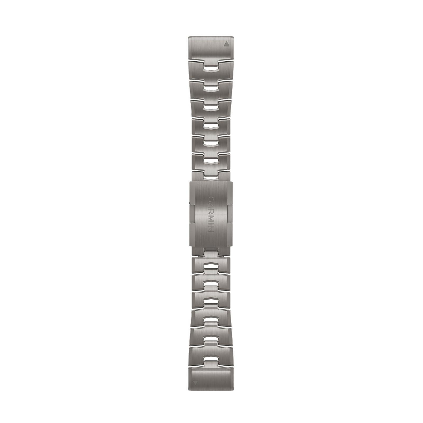 Garmin QuickFit 26 Band Titan Silber