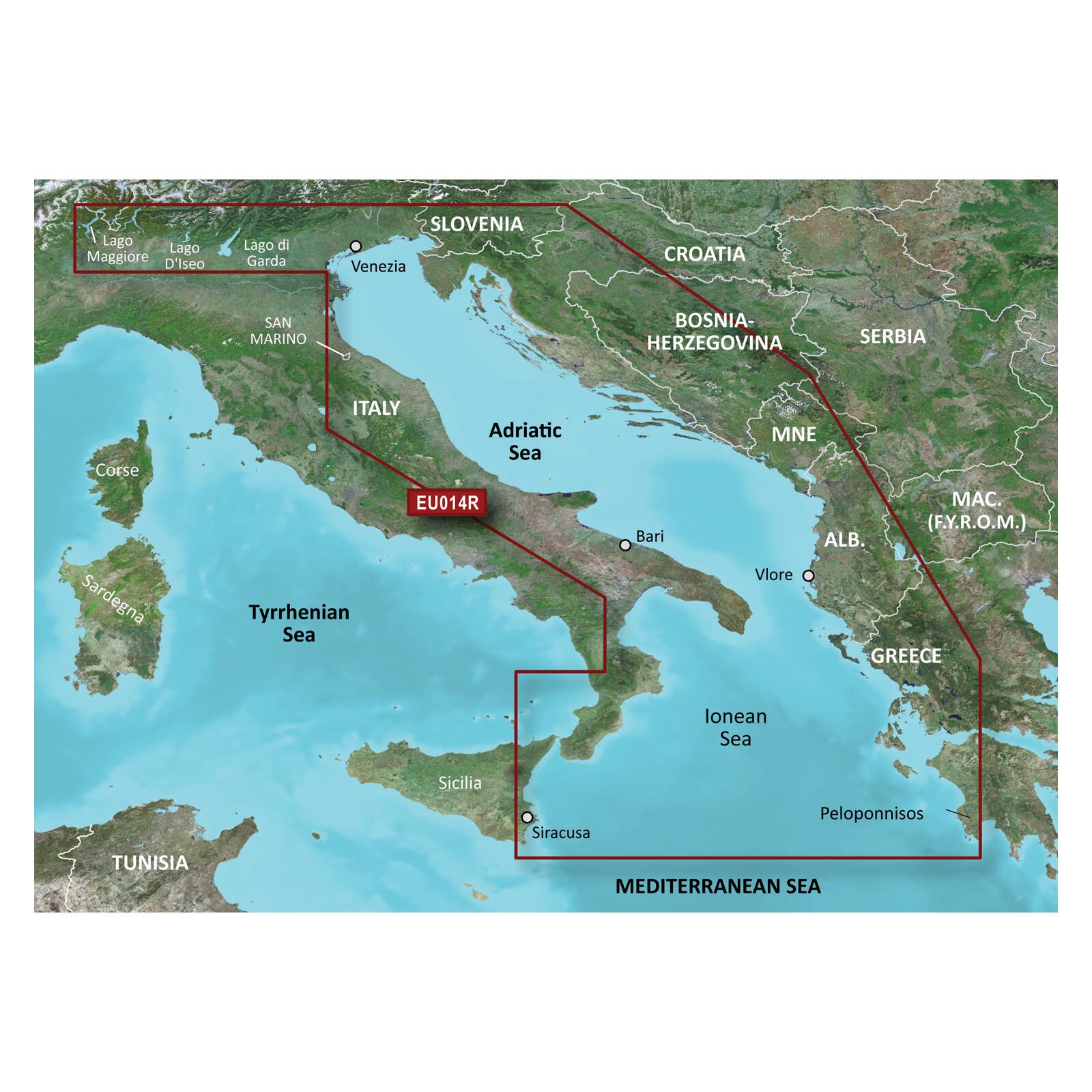Garmin HXEU014R Italy, Adriatic Sea