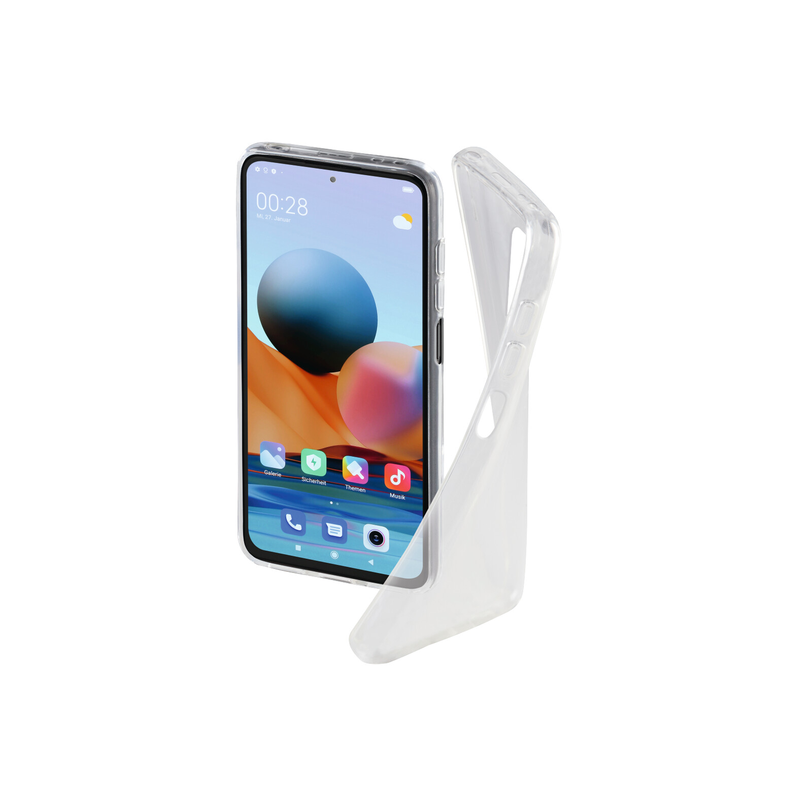 Hama Back Cover Xiaomi Redmi Note 10 Pro clear
