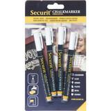 Securit Kreidestifte 1-2mm 4er weiß