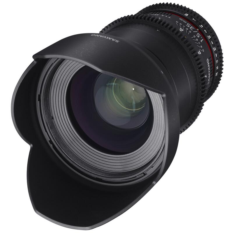 Samyang MF 35/1,5 Video DSLR II Nikon F