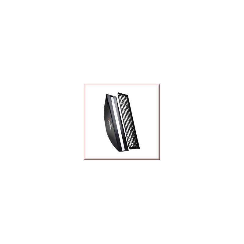 walimex pro Softbox PLUS OL 22x90cm Hensel EH