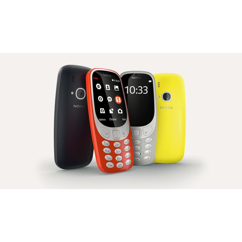 Nokia 3310 grau Dual-SIM