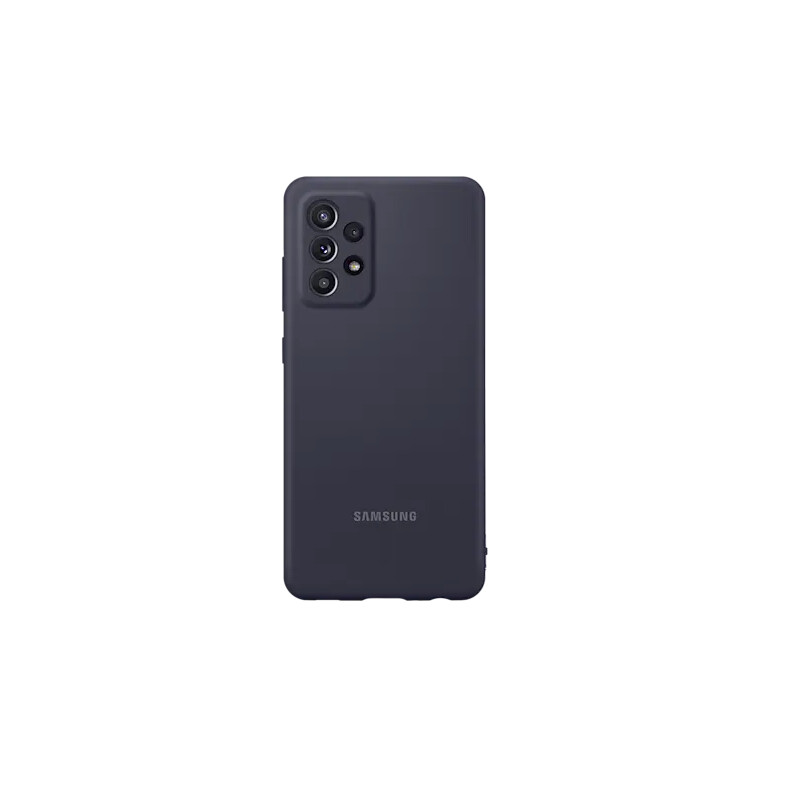 Samsung Back Cover Silicone Galaxy A52/ A52 5G black