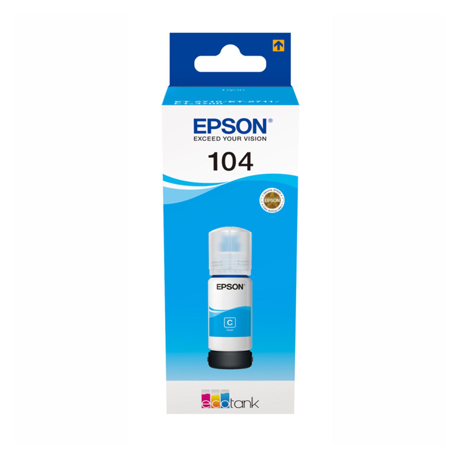 Epson T00P240 Tinte Cyan 65ml