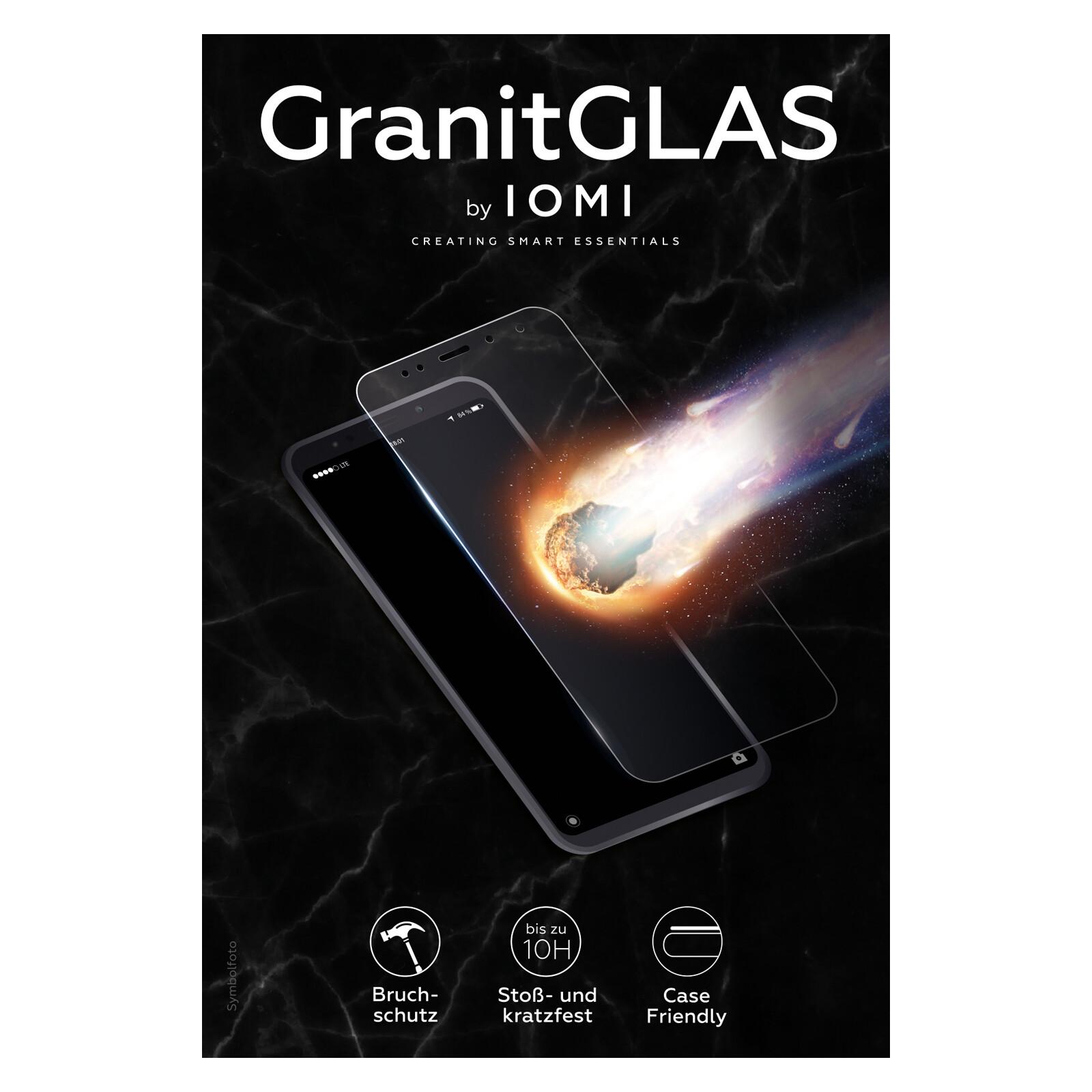 IOMI Glas Granit CF Apple iPhone X/XS