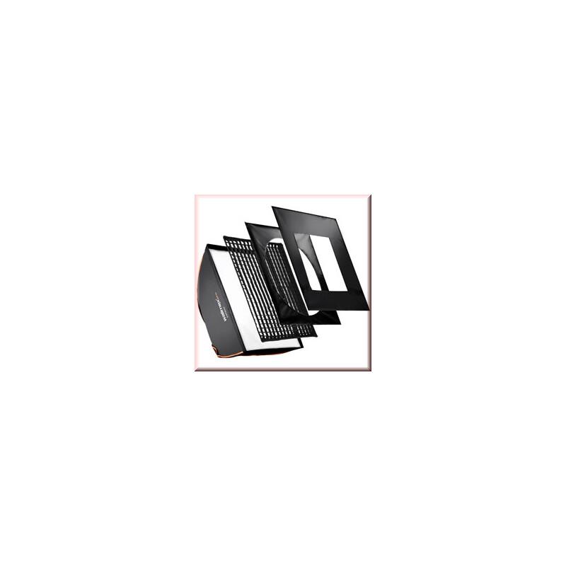 walimex pro Softbox PLUS OL 80x120cm Aurora/Bowens