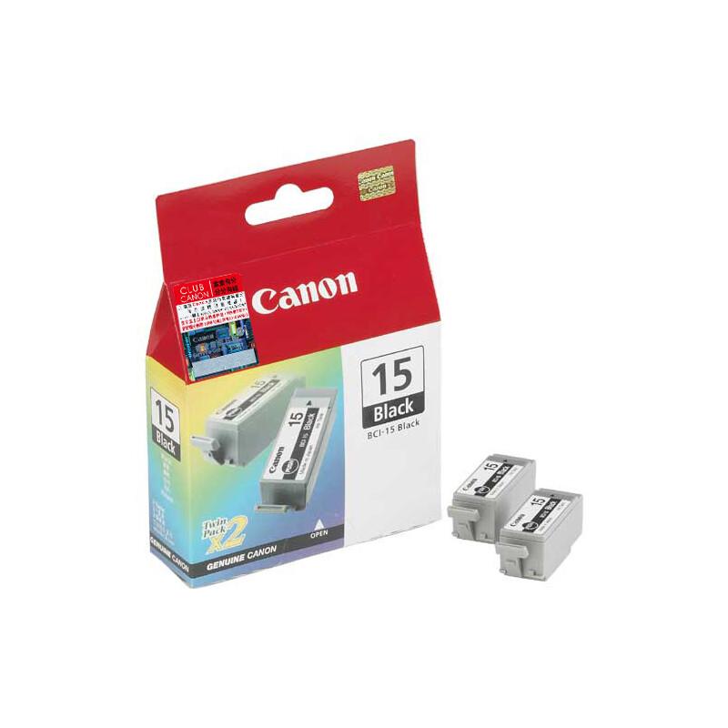 Canon BCI-15BK Tinte black