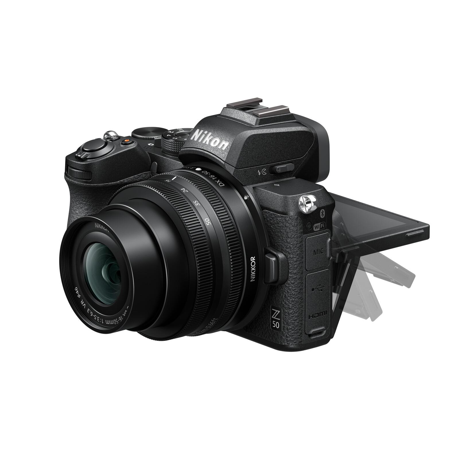 Nikon Z50 + DX 16-50/3.5-6.3 VR Vlogger Kit