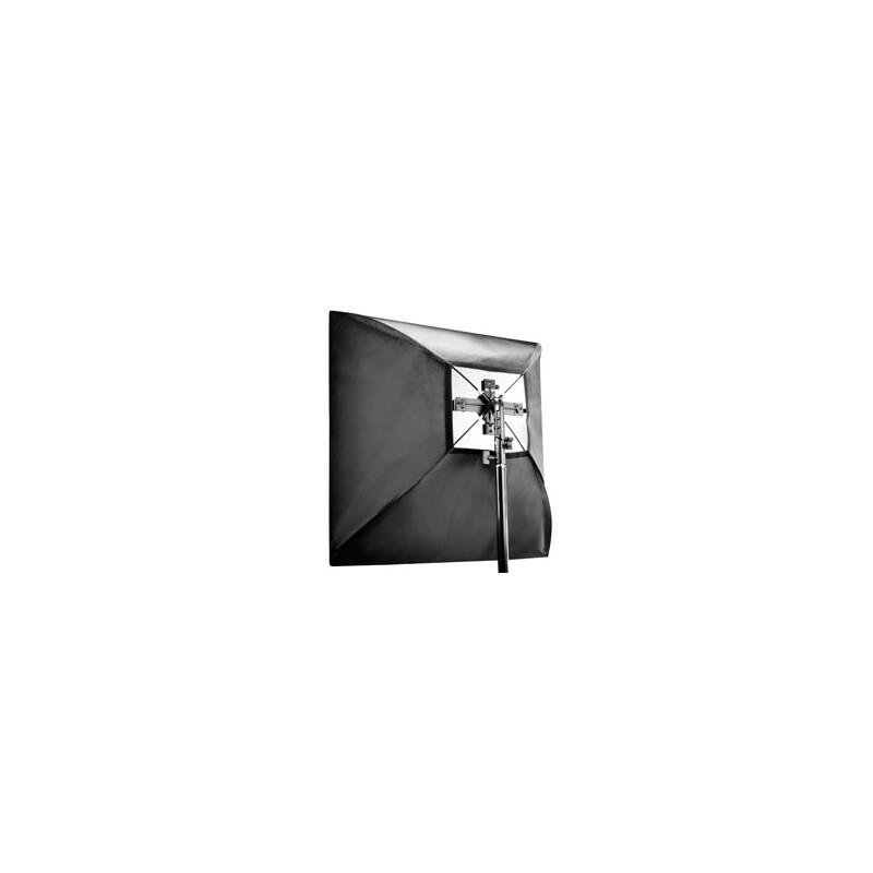 walimex Set 4f. Blitzhalter inkl. Softbox 60x60cm