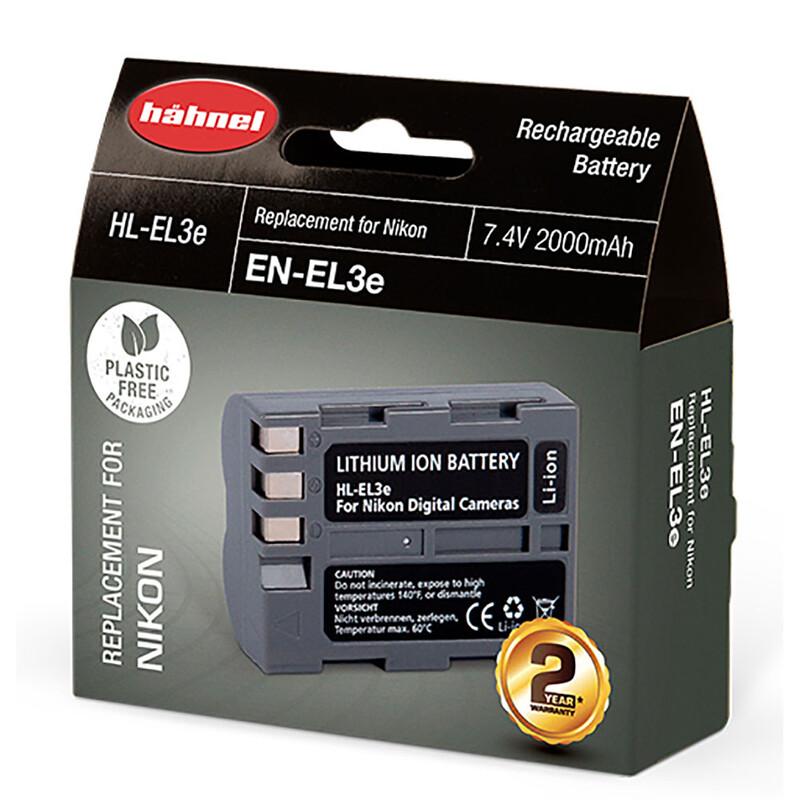 Hähnel Nikon EN-EL3E Akku