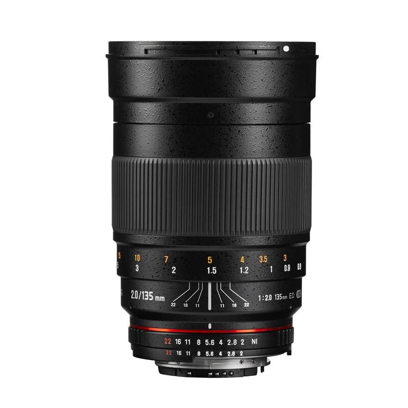 Samyang MF 135/2,0 Nikon F AE