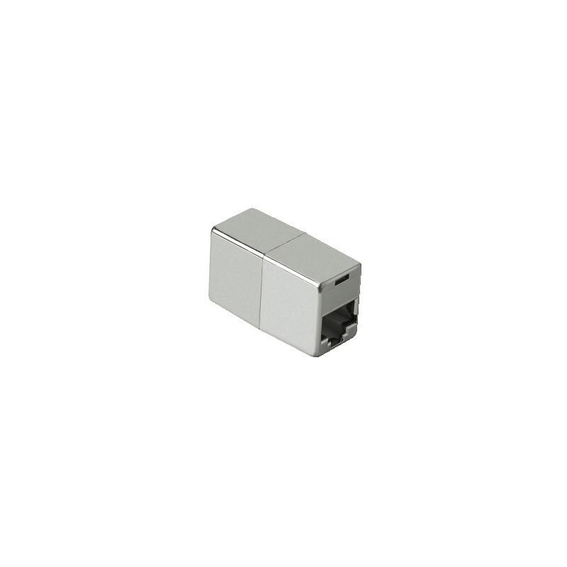 Hama 45047 CAT5e-Netzwerkadapter, 2x Modular 8p8c (RJ45)-Kup