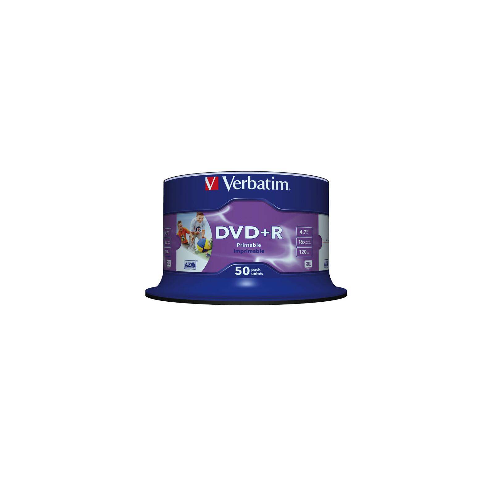 Verbatim DVD+R 4,7GB/16f Spindel 1x50