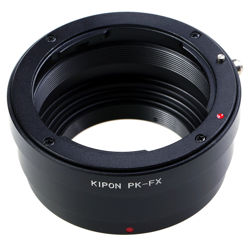 Kipon Adapter für Pentax K auf Fuji X