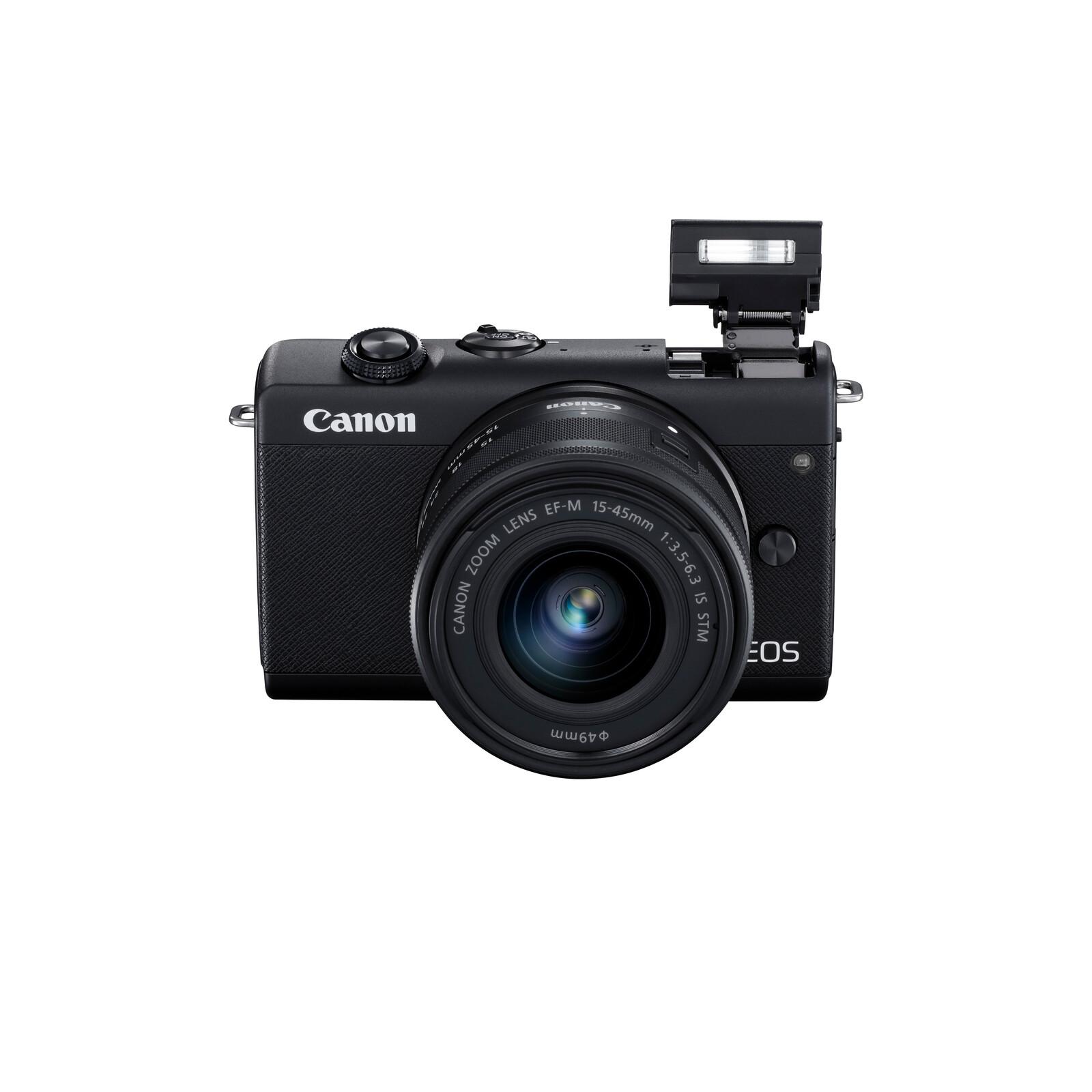 Canon EOS M200 + EF-M 15-45/3.5-6.3 IS STM Schwarz