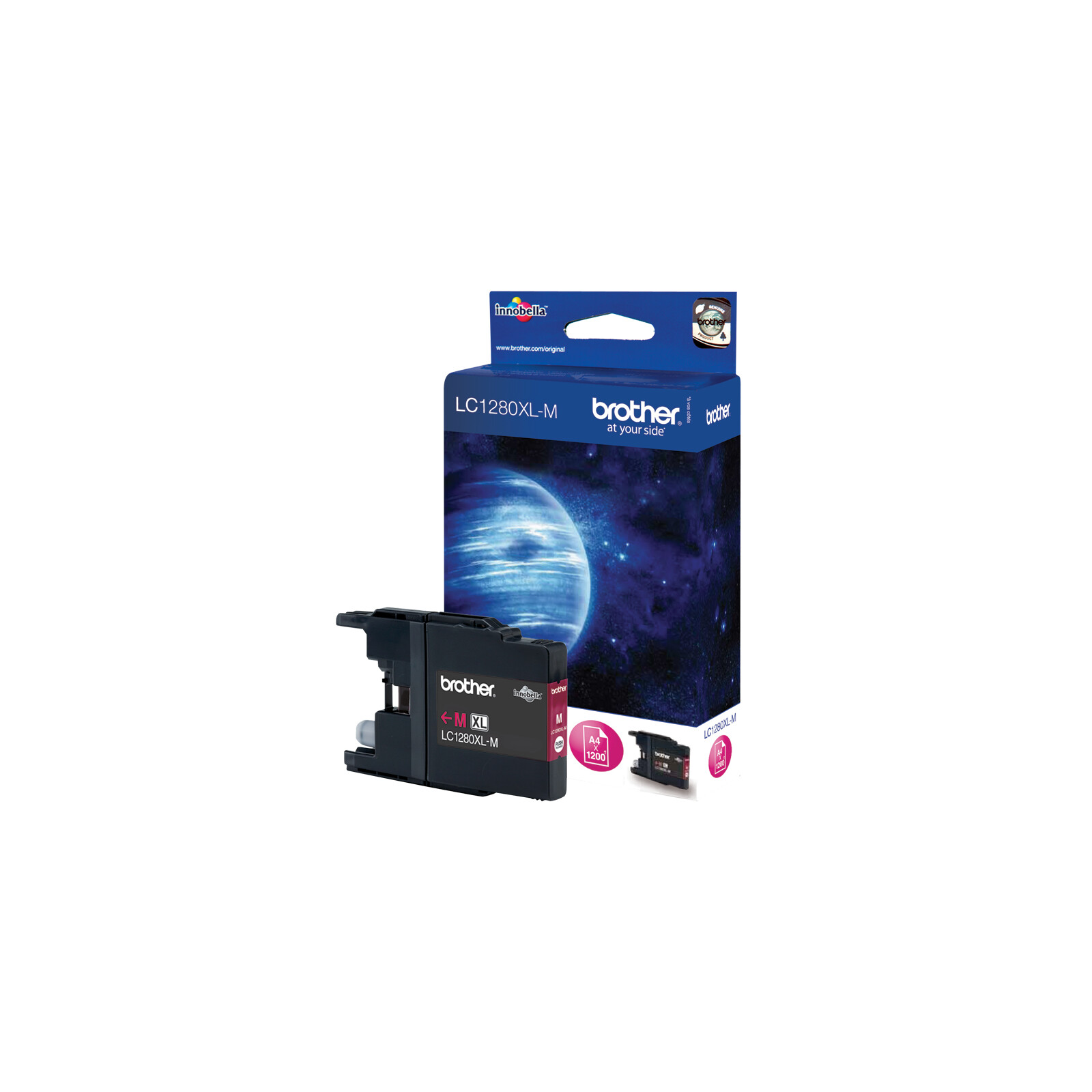 Brother LC-1280XLM Tinte magenta