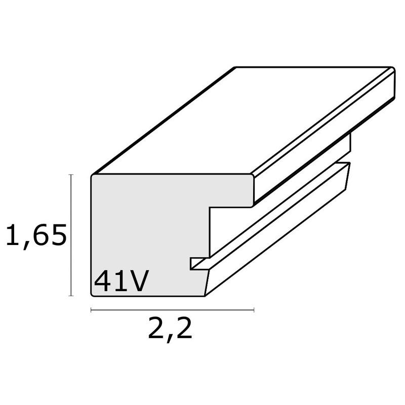 Deknudt S41VF1H2H 15x20 Kunststoff weiß