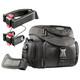 mantona Set Premium Biker Fototasche + 2 Adapter