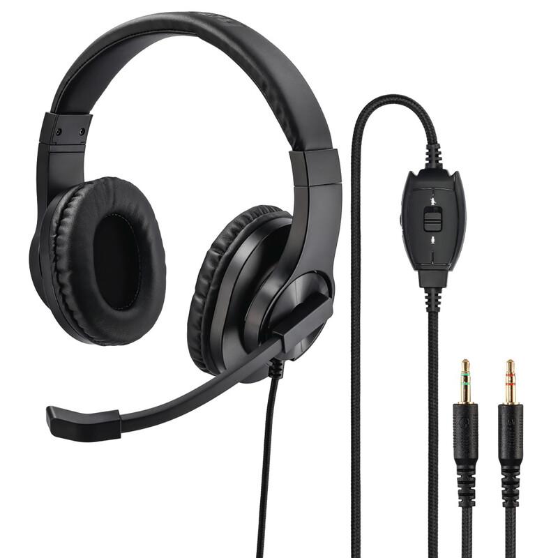 Hama PC-Office-Headset HS P300 schwarz