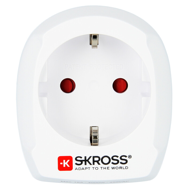 Skross Europe to UK V2 Reiseadapter