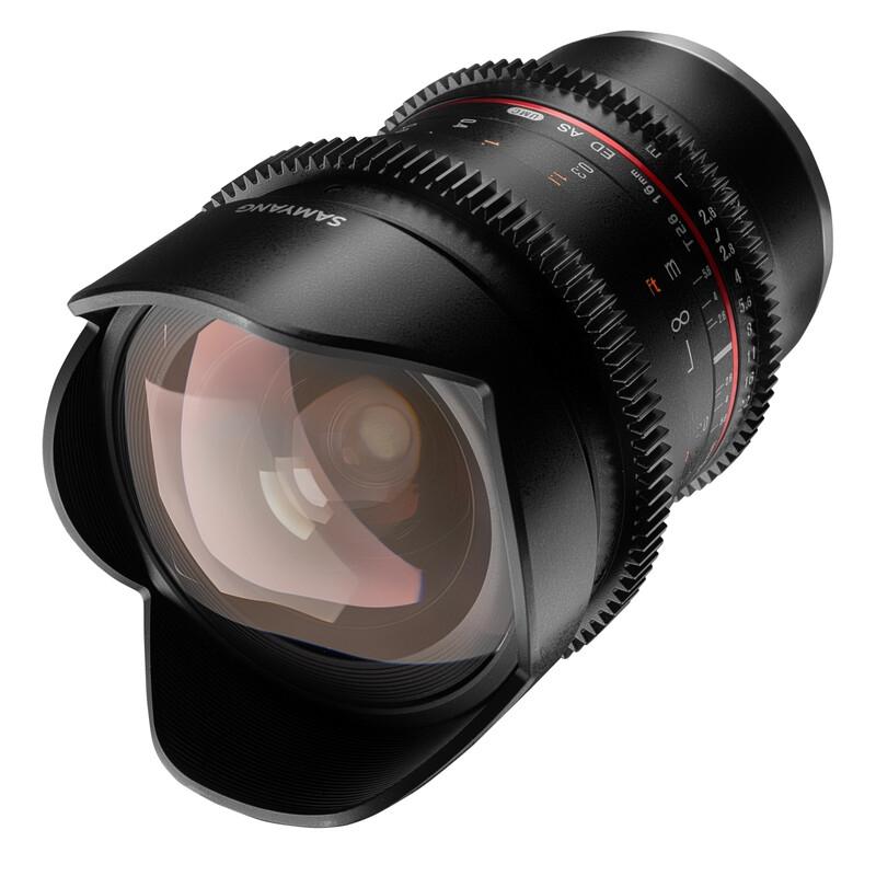 Samyang MF 16/2,6 Video DSLR Sony E