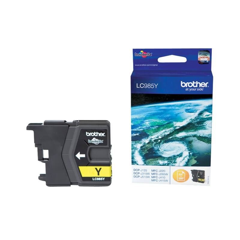 Brother LC-985Y Tinte yellow