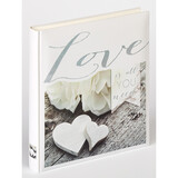 Hochzeitsalbum Love is All you need 28x30 50S