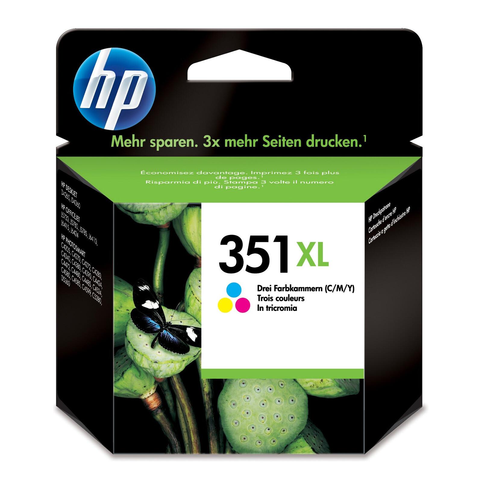 HP 351XL CB338EE Tinte color 14ml