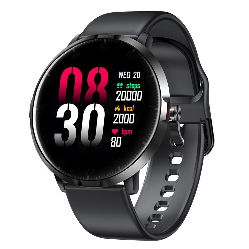 IOMI Bluetooth Smartwatch schwarz/schwarz