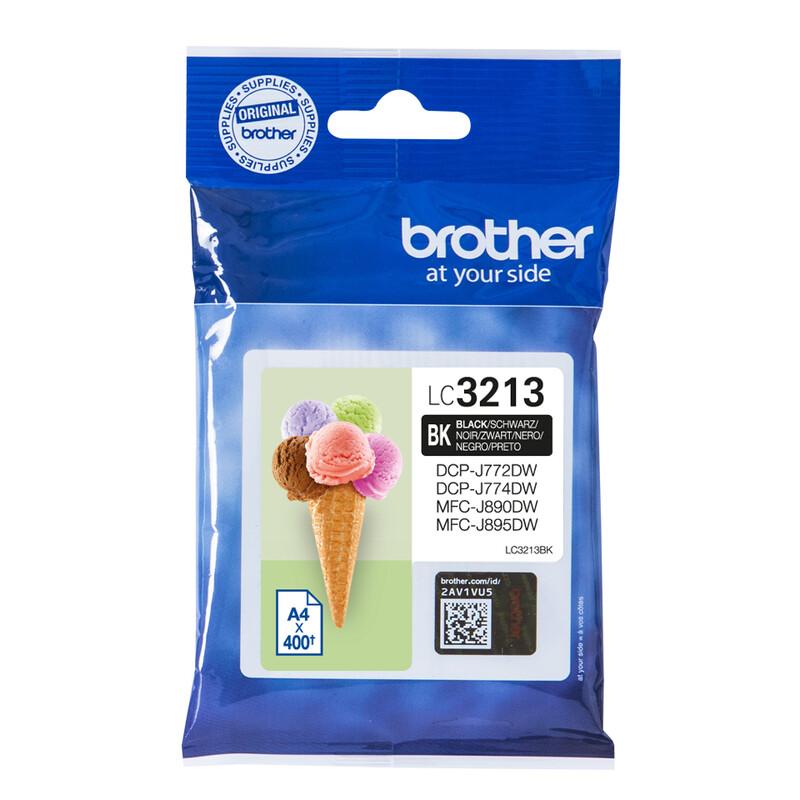 Brother LC3213BK Tinte Black