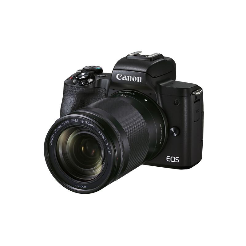 Canon EOS M50 Mark II Gehäuse + EF-M 18-15/3.5-6.3 Kit