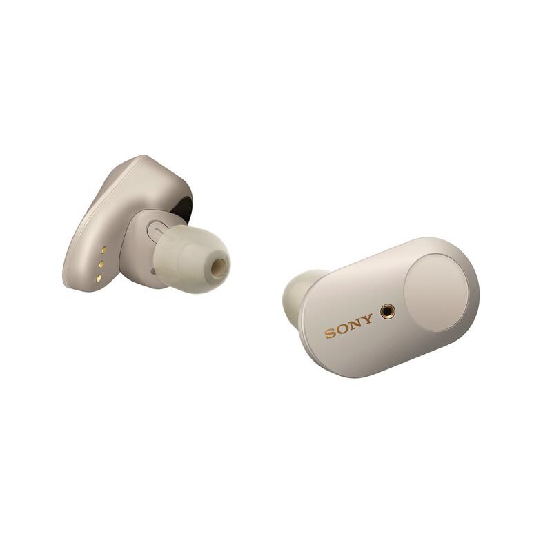 Sony WF-1000XM3 BT In Ear Kopfhörer silber