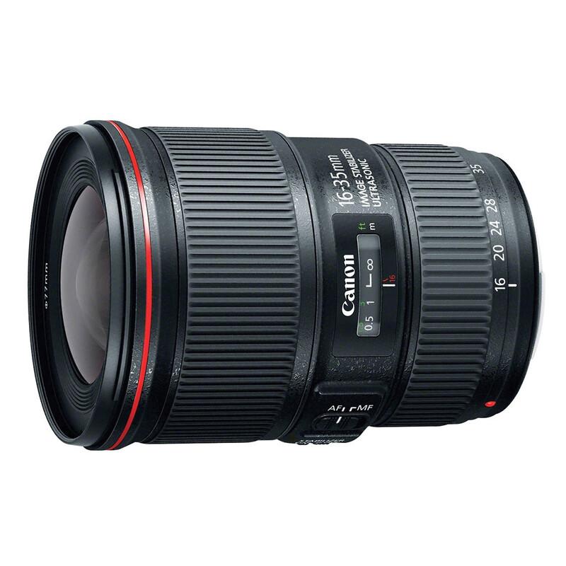 Canon EF 16-35/4.0L IS USM + UV Filter