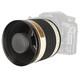 walimex pro 500/6,3 DSLR Spiegel Sony A Weiß