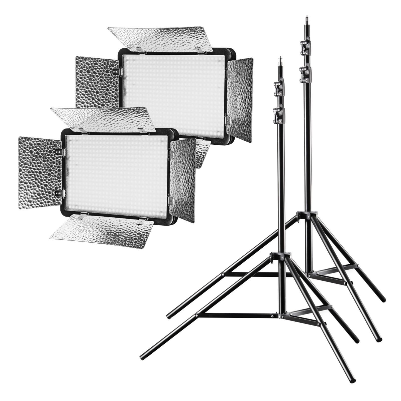 walimex pro LED 500 Versalight Daylight Set2