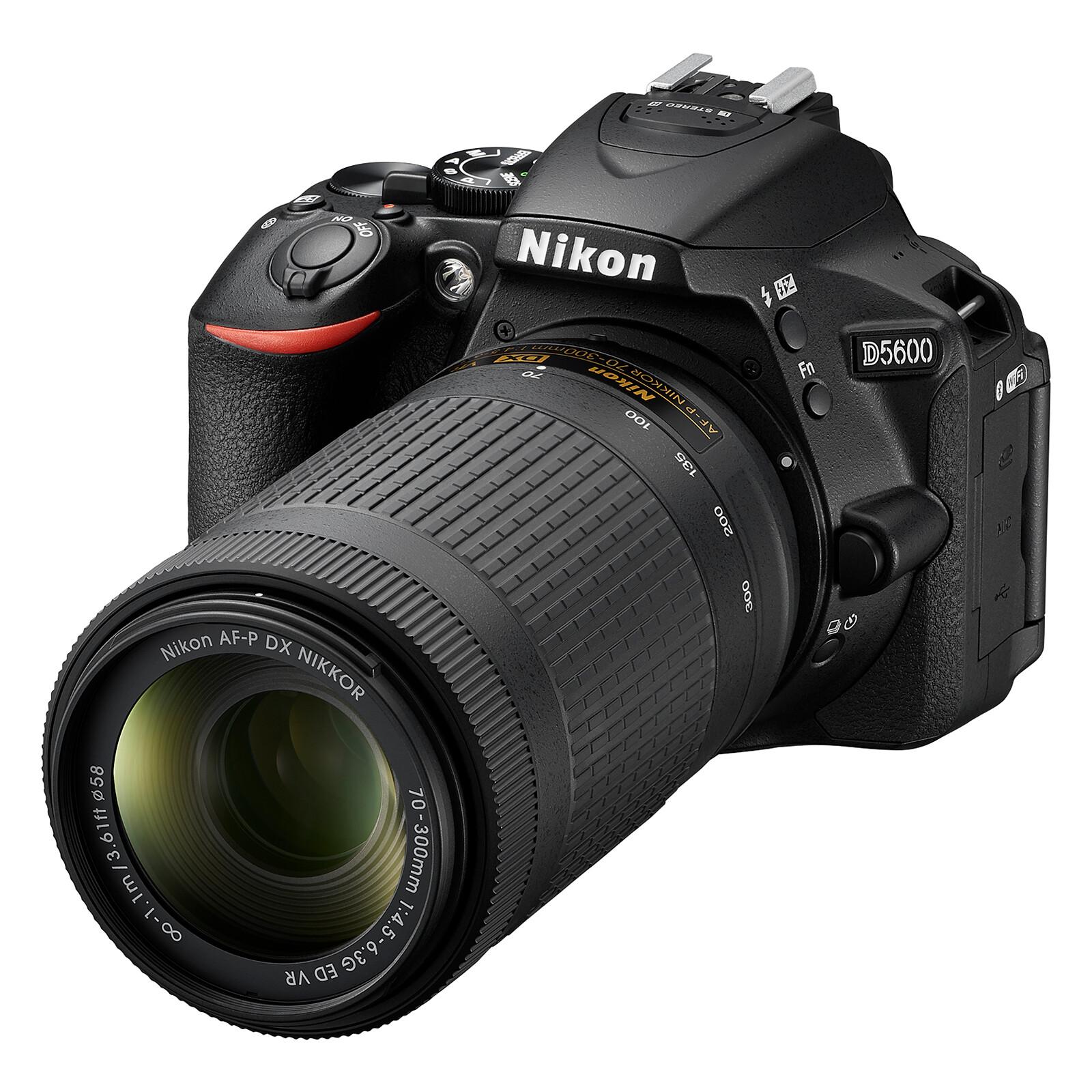 Nikon D5600 + AF-P 18-55/3,5-5,6G VR + AF-P 70-300/4,5–6,3G