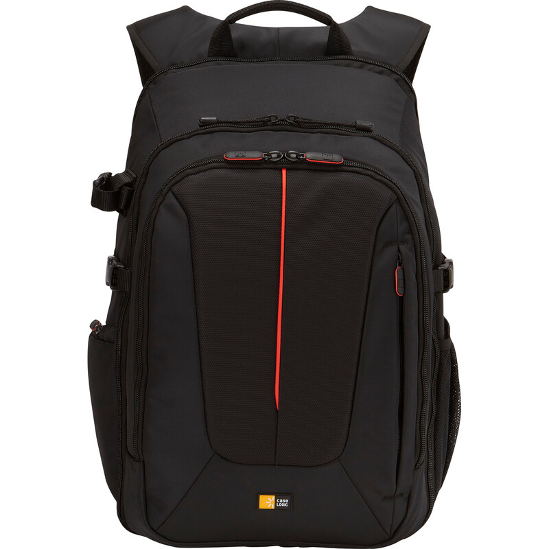 CaseLogic SLR Backpack black red