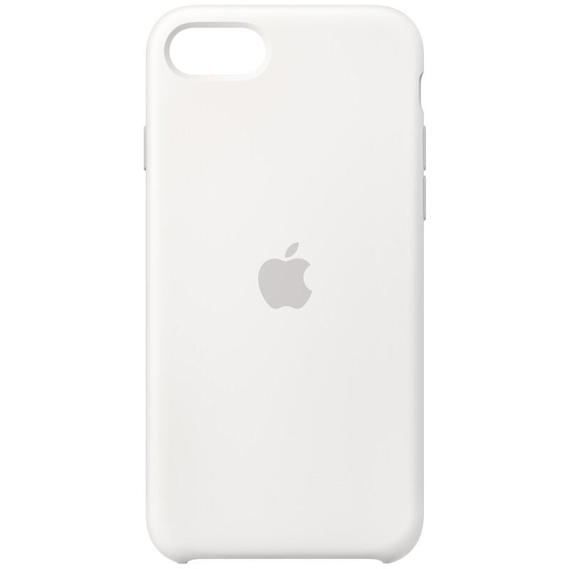 Apple Original Back Cover Silikon iPhone SE 2020 weiss