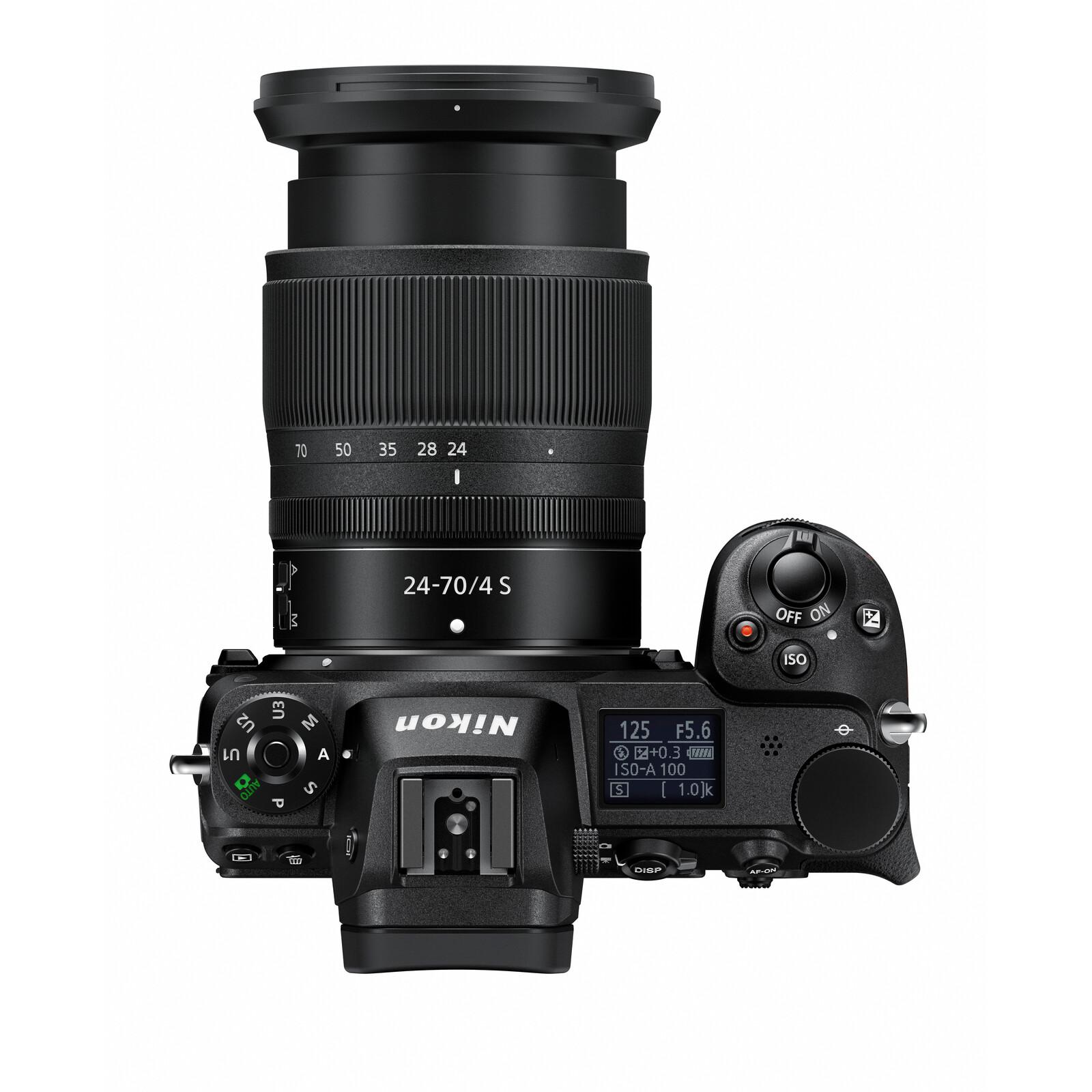 Nikon PRO Z7 + Z 24-70/4,0S + FTZ Bajonett Adapter