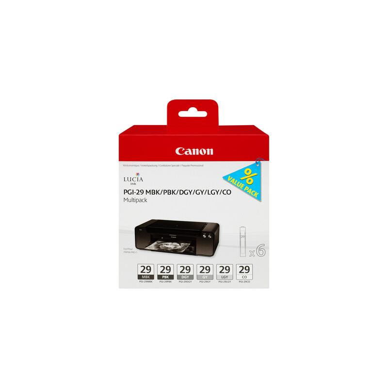 Canon PGI-29 Tinte Multipack MBK