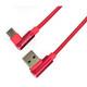 Emporia Datenkabel USB-A auf Micro-USB rot