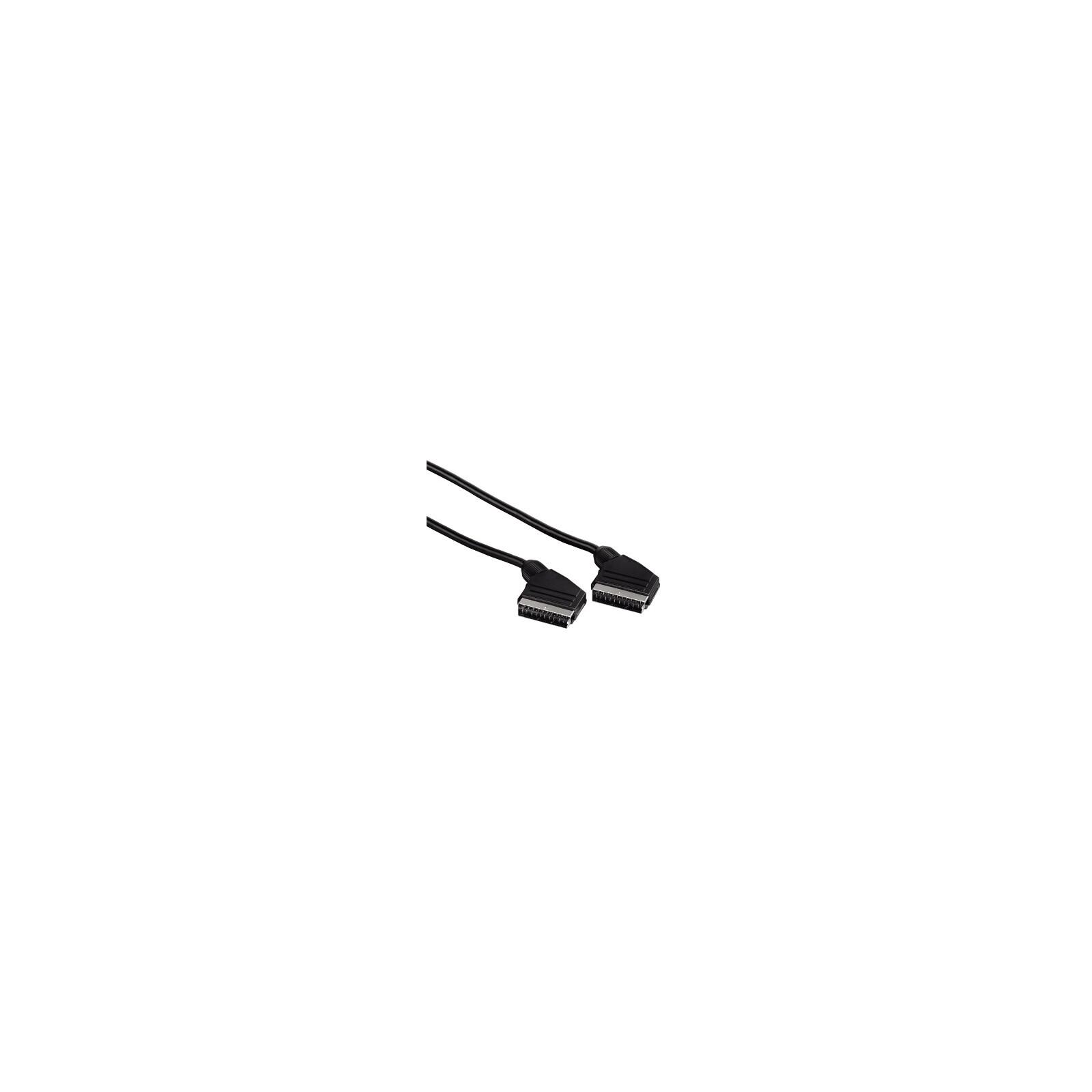 Hama Scart Kabel Stecker - Stecker 1,5 m Schwarz