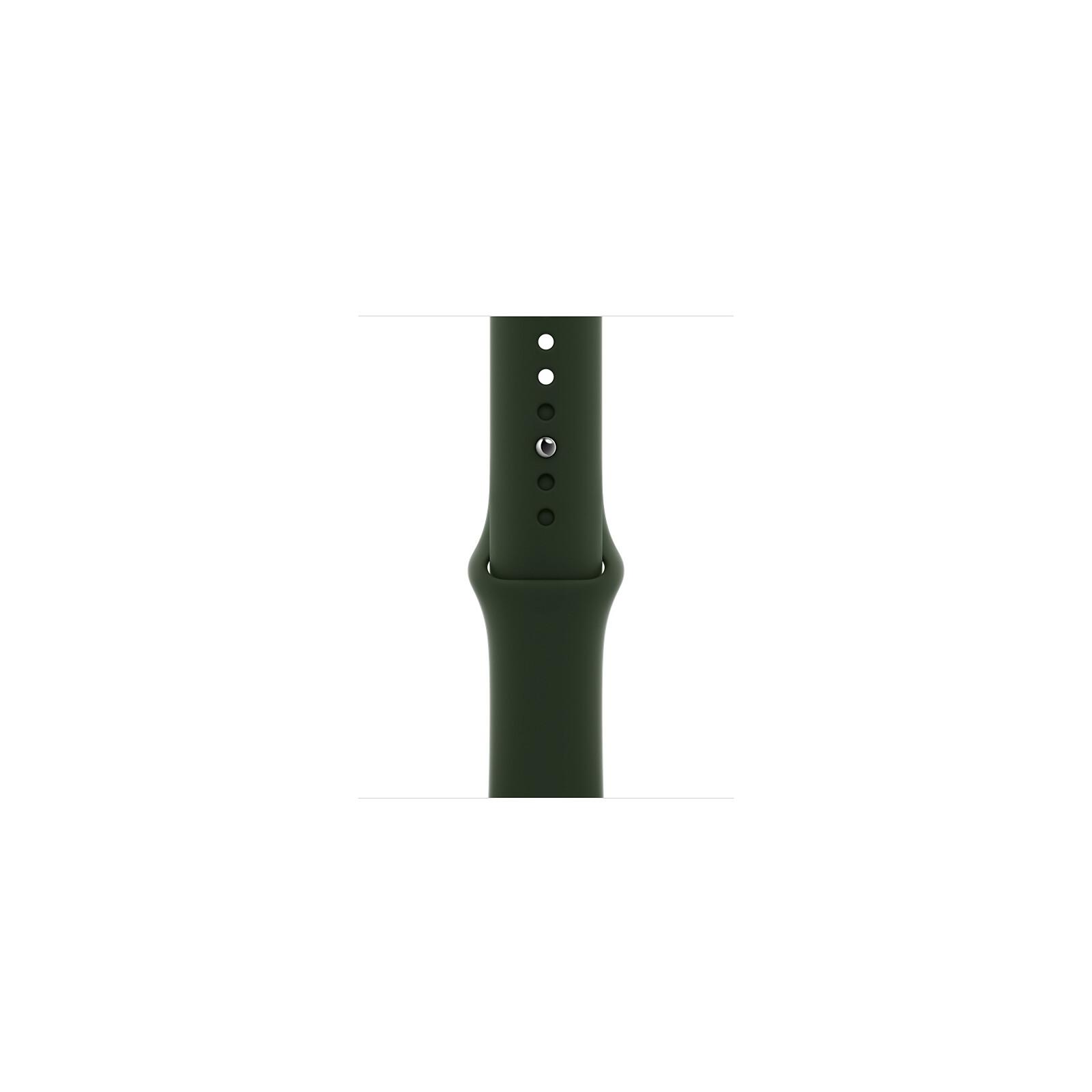 Apple Watch 40mm Sportarmband zyperngrün S/M M/L