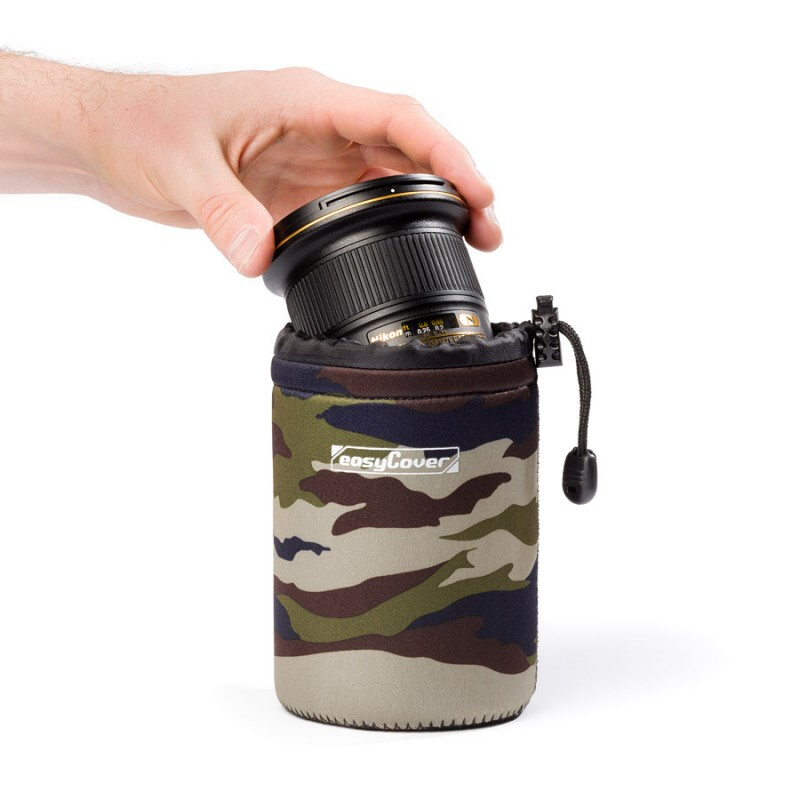 EasyCover Lens Case Large camouflage